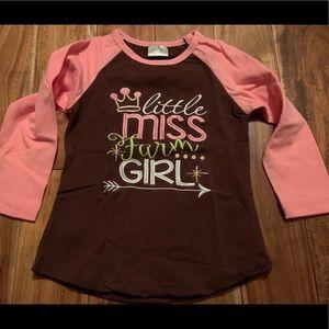 NEW little miss farm girl girls 2T/3T Boutique